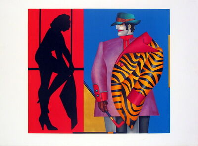Richard Lindner, 'Purple Jacket', 1975