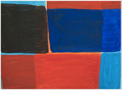 Janet Sawyer, 'Color Immersion, Red, Blue and black', 2020
