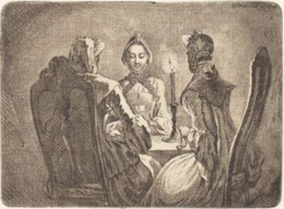 Daniel Nikolaus Chodowiecki, 'The Card Game (Der kleine l'Hombre Tisch)', 1758