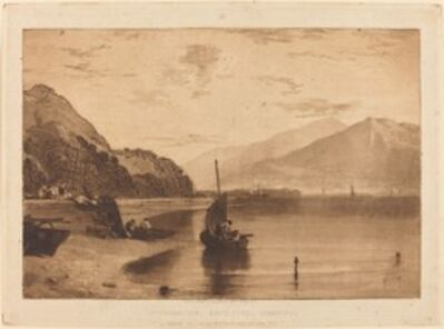 J. M. W. Turner, 'Inverary Pier', published 1811