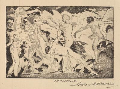 Arthur Bowen Davies, 'By the Caliban', 1919-1920