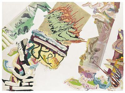 Pia Fries, 'palimpsest surinam 3', 2005
