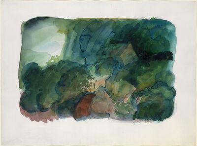 William Tillyer, 'Mill Wood North Yorkshire', 1986-1987