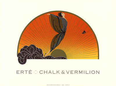 Erté (Romain de Tirtoff), 'Sunrise', 1992