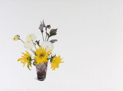 Susan Headley Van Campen, 'Sunflowers and Dahlias, September'