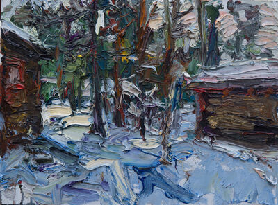Ulrich Gleiter, 'My Cabin: Winter in Finland', 2019