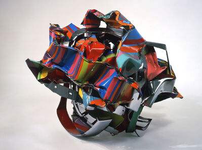 John Chamberlain, 'Knot in the Cards', 2001