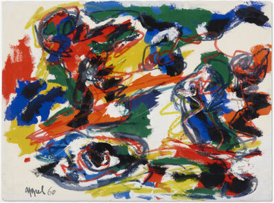 Karel Appel, 'Heads like a Landscape', 1960