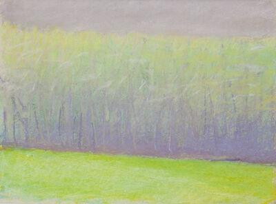 Wolf Kahn, 'May Tree Line', 1993