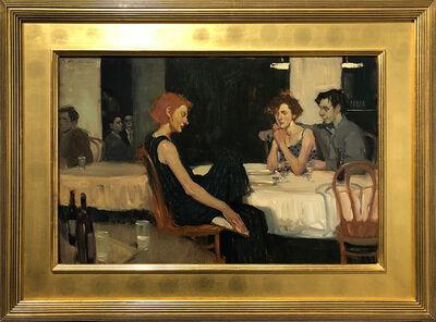 Malcolm T. Liepke, 'Cafe Conversation', 1995