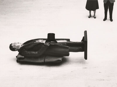 André Kertész, 'Thomas Jefferson, Utica, New York', 1961 / 1960s