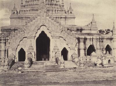 Linnaeus Tripe, 'Amerapoora: East Door of the Maha-thugea-yan-tee Pagoda', 1855