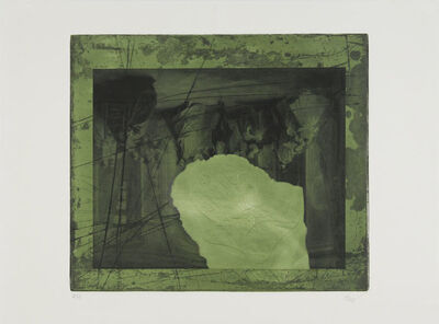 Antoni Clavé, 'Black and Green', 1970