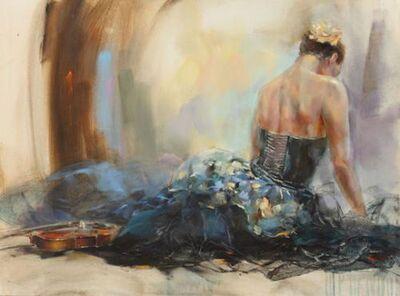 Anna Razumovskaya, 'Resting Moment II - Framed', ca. 2017