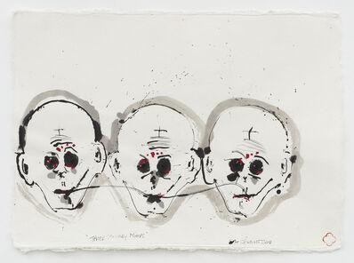 Max Gimblett, 'Three Monkey Minds', 2014