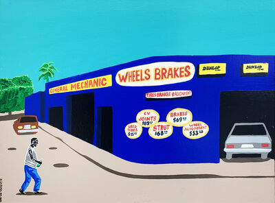 Hervé Di Rosa, 'Wheel brakes', 2003