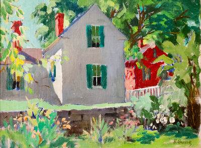 Henry Gasser, 'House and Garden', ca. 1970