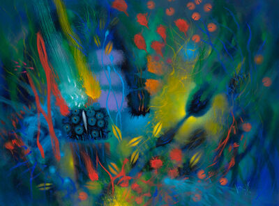 Carlos Jacanamijoy, 'Fortalezas en flor (Flower fortresses)', 2018