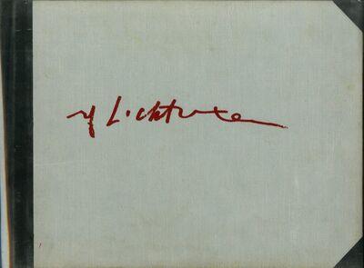 Roy Lichtenstein, 'Limited Edition Hardback Book of Landscape Sketches 1984-1985 ', 1986