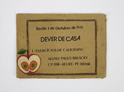 Paulo Bruscky, 'Dever de Casa', 1978