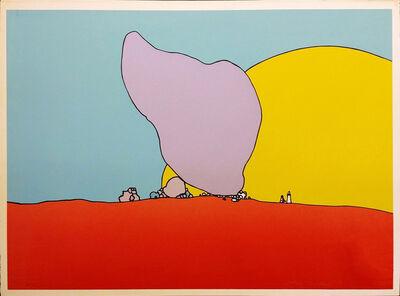 Peter Max, 'ROCKS AND SUN', 1971