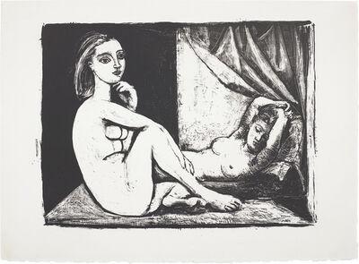 Pablo Picasso, 'Les Deux femmes nues (Two Nude Women)', 1945