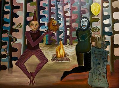 Hanny Khoury, 'Fire Clown', 2021