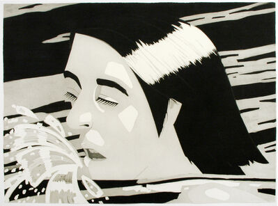 Alex Katz, 'The Swimmer', 1974