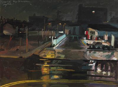George Nick, 'Rainy Philadelphia', 1983
