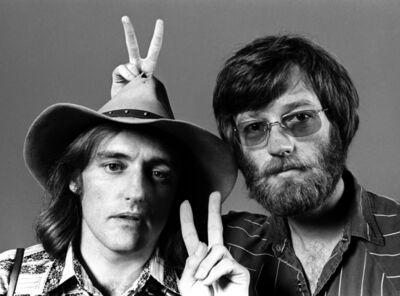 Harry Benson, 'Dennis Hopper & Peter Fonda, New York', 1969