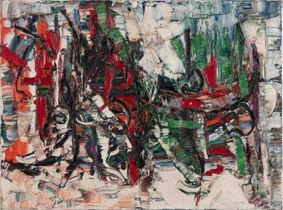 Jean-Paul Riopelle, 'Jeux', 1960