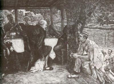 James Jacques-Joseph Tissot, 'L'Enfant Prodigue: Le Veau Gras', 1882