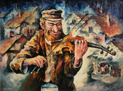 Leonid Afremov, 'Fiddler on the Roof', 2001