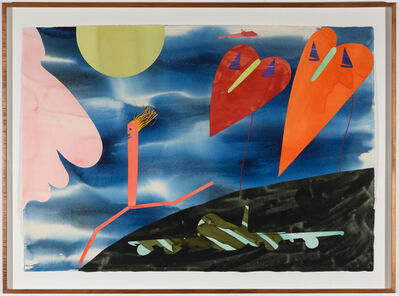 Billy Al Bengston, 'Ka' ao Watercolor', 1983