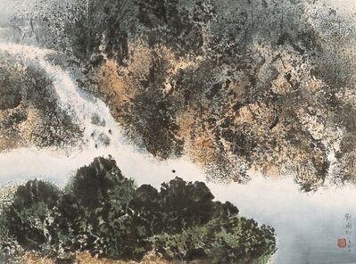Liu Kuo-sung 刘国松, 'Smoke blockage 烟煙', 1962