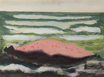 Milton Avery, 'Pink Island, White Waves', 1959