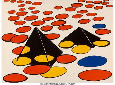 Alexander Calder, 'Black Pyramids', c. 1974