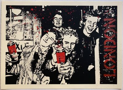 Mr. Brainwash, 'Anarchy in the UK', 2009