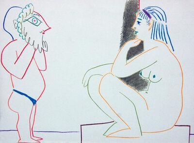 Pablo Picasso, 'Verve 1954 VI', 1954