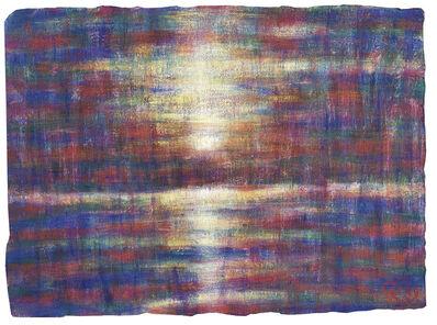 Christian Rohlfs, 'Sonnenuntergang am Lago Maggiore', 1929