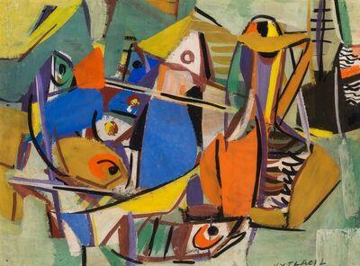 Vaclav Vytlacil, 'Colorful Fish', 1940