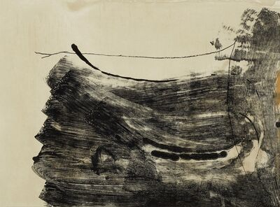 Helen Frankenthaler, 'Ochre dust', 1987