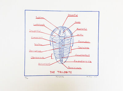Mark Dion, 'The Trilobite', 2016