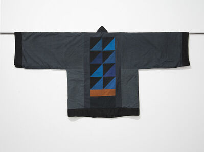 Chant Avedissian, 'Jacket grey cotton with hand-dyed colour parts', 1990