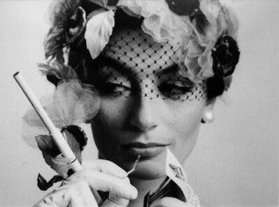 William Klein, 'Anouk Aimée, Paris, VOGUE', 1961