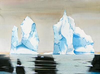 Scott Kelley (b. 1963), 'Icebergs, Palmer Station, Antarctica '