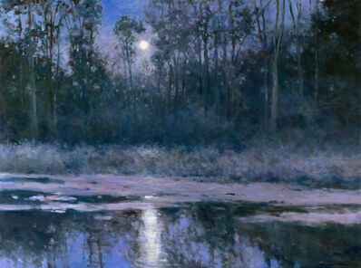 Thomas McNickle, 'MOONLIGHT REFLECTIONS-SCOUT POND', 2021