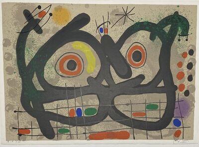 Joan Miró, 'Le Lezard aux Plumes d'Or Pl.III', 1967