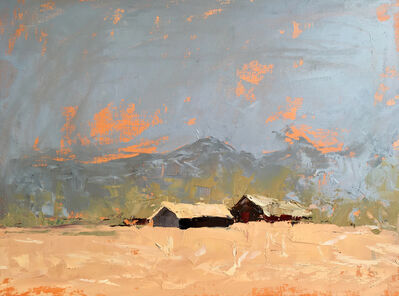 Sandra Pratt, 'Two Houses', 2021