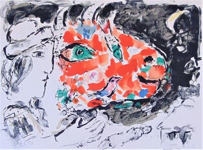Marc Chagall, 'After Winter, from: Beyond the Mirror | Après l'Hiver, from: Derrière le Miroir', 1972
